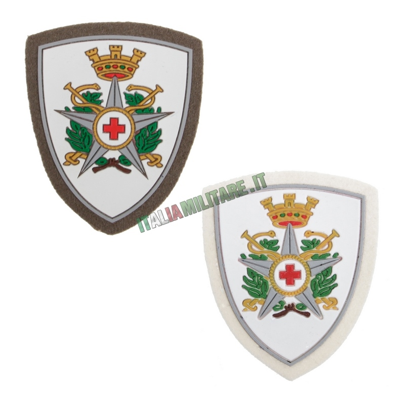Scudetto Omerale Croce Rossa Militare