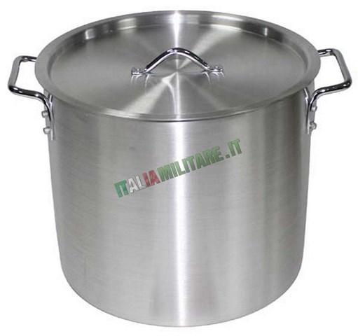 Pentola in alluminio da 12 litri per cucinare fornelli for Cucinare per 50