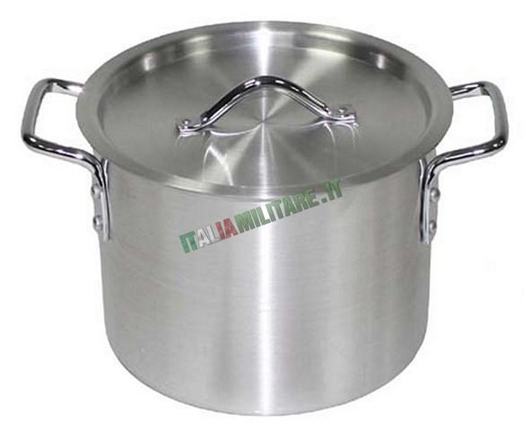 Pentola in alluminio da 8 litri per cucinare fornelli for Cucinare per 50