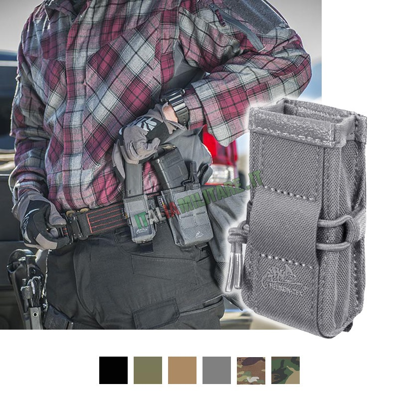 Tasca Porta Caricatore Singolo HELIKON per Pistola - Aperto
