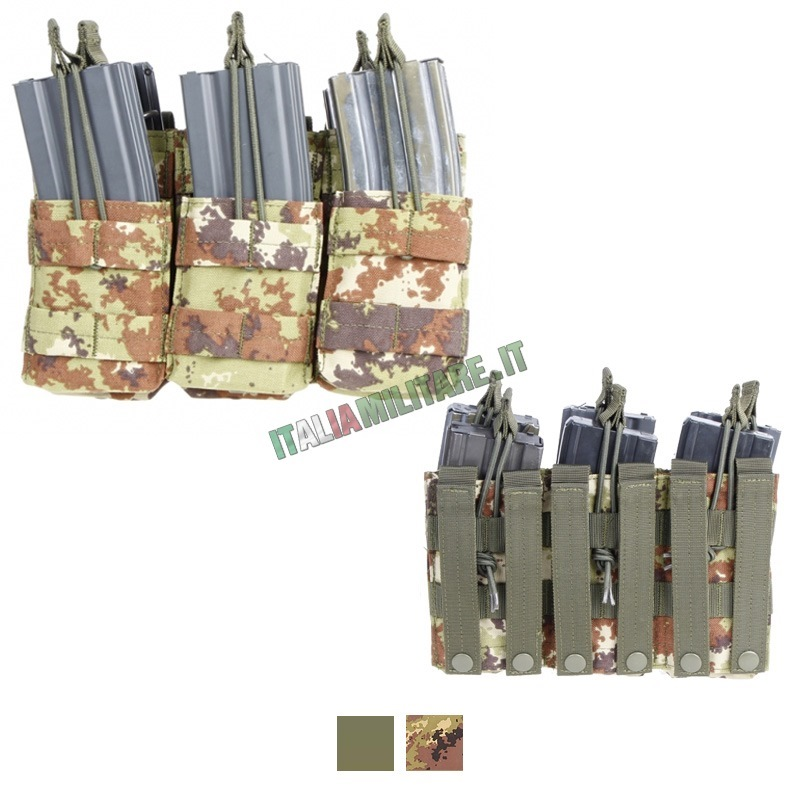 Tasca Porta 6 Caricatori Estrazione Rapida MA44 Condor