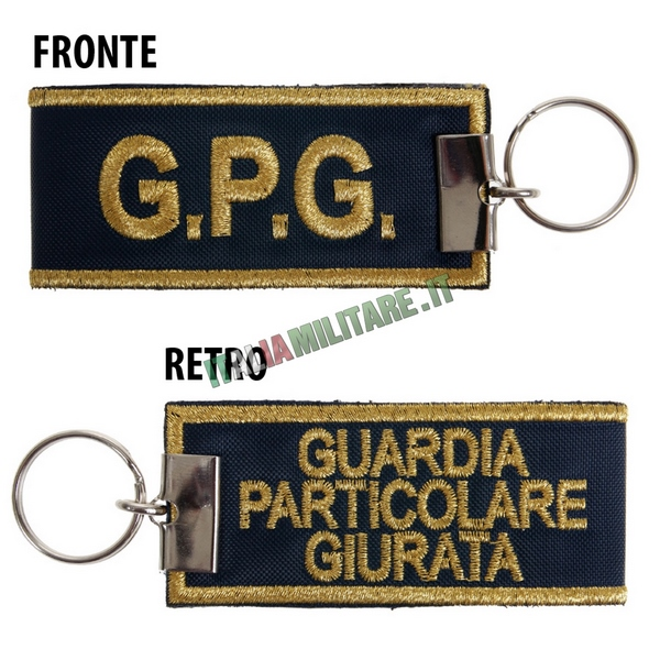 Portachiavi GPG - Guardia Giurata