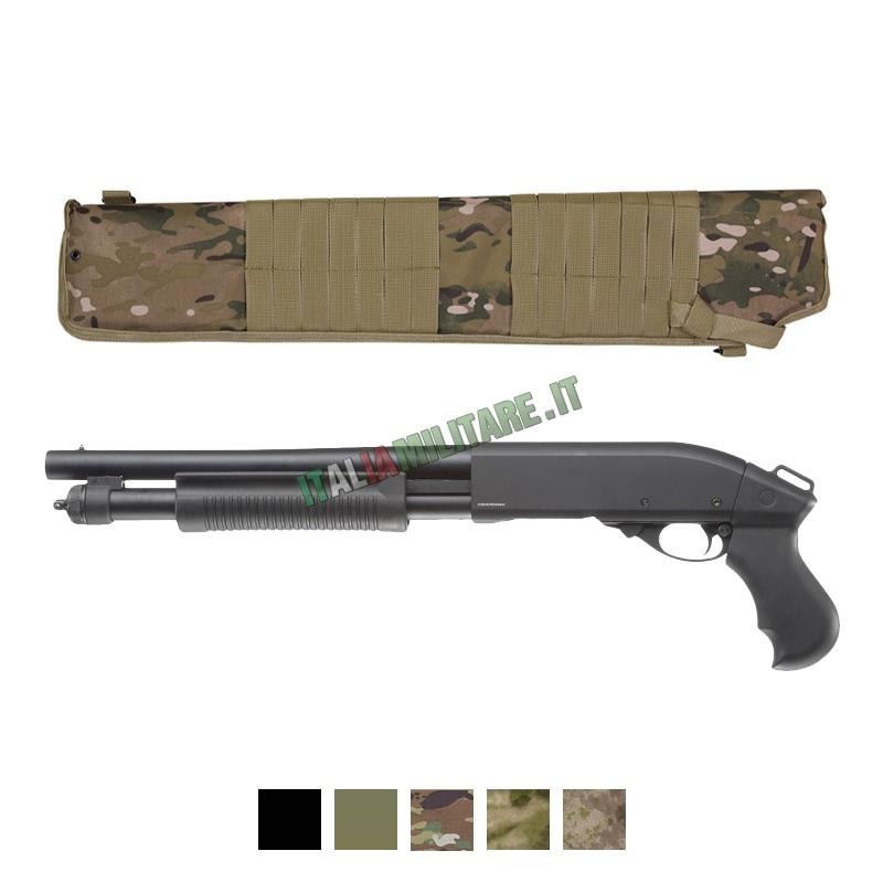 Porta Fucile a Pompa con Attacchi Modulari e Tracolla
