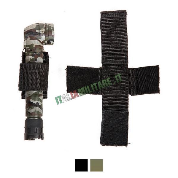Aggancio Porta Torcia a Velcro per Cinturone