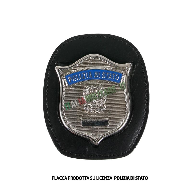 Porta Distintivo Da Cintura Polizia di Stato Ascot 606
