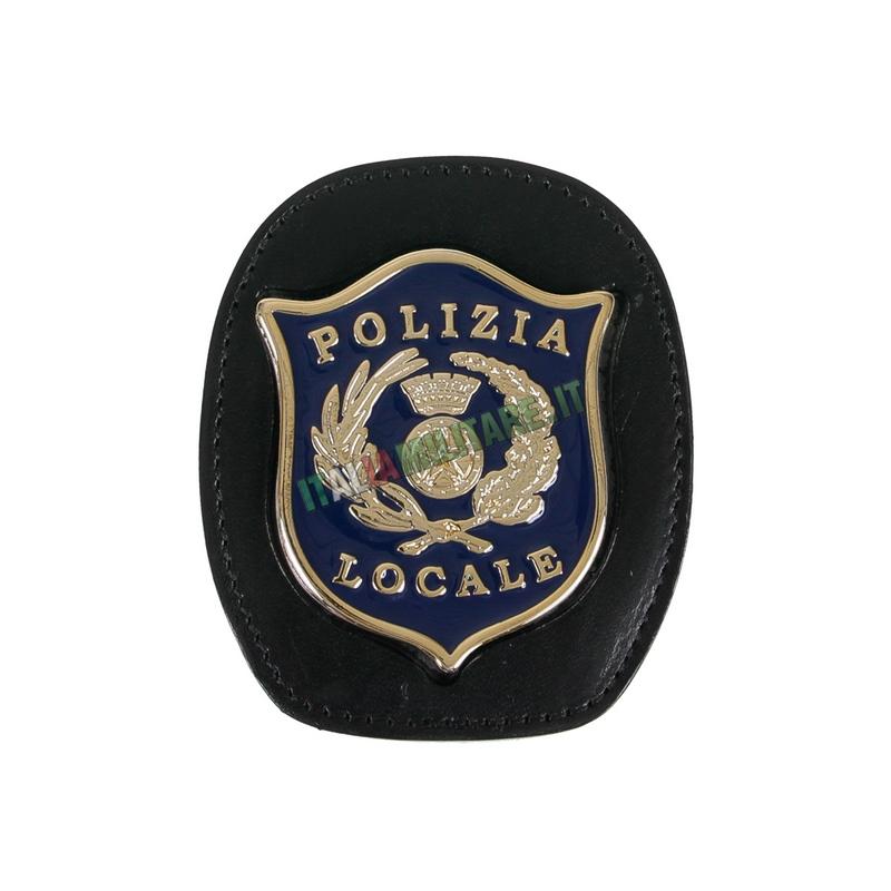 Porta Distintivo Da Cintura Polizia Locale Ascot 606