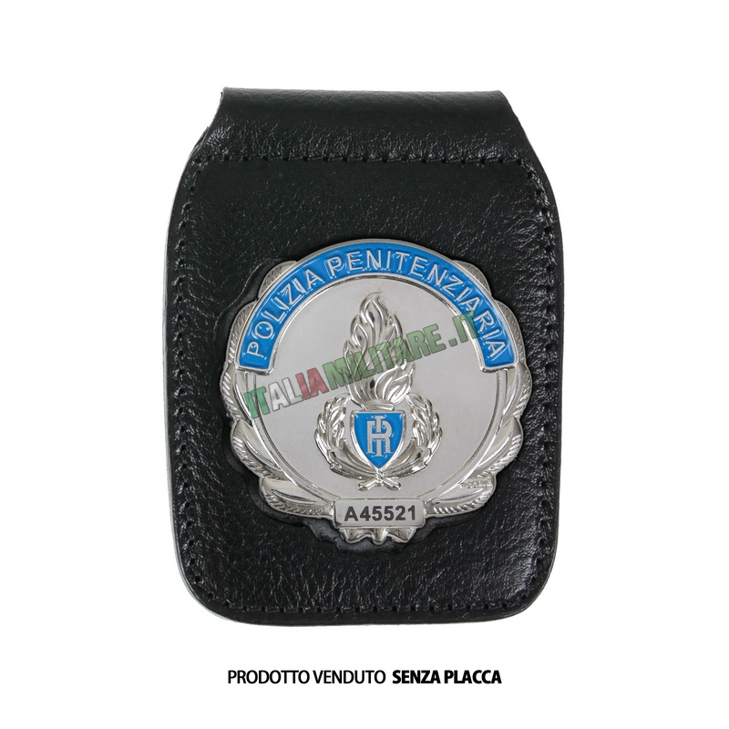 Porta Distintivo Da Cintura e Collo Polizia Penitenziaria Ascot 604