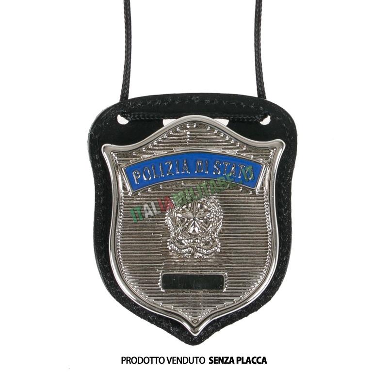 Porta Distintivo Da Collo Polizia di Stato Ascot 603