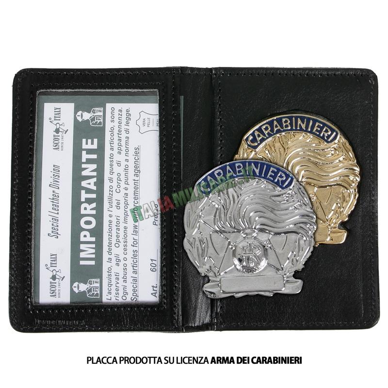 Portafogli Porta Distintivo e Tessera Carabinieri Ascot 601