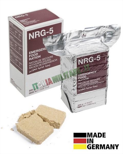 Razione Alimentare di Emergenza Pasto Completo NRG5