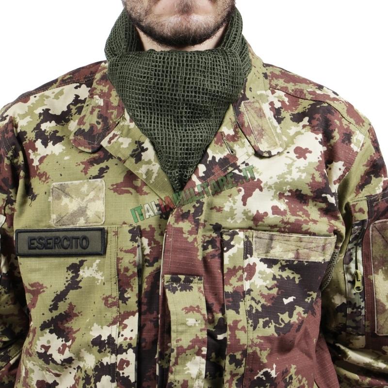 Sciarpa a Rete Militare OMD Verde