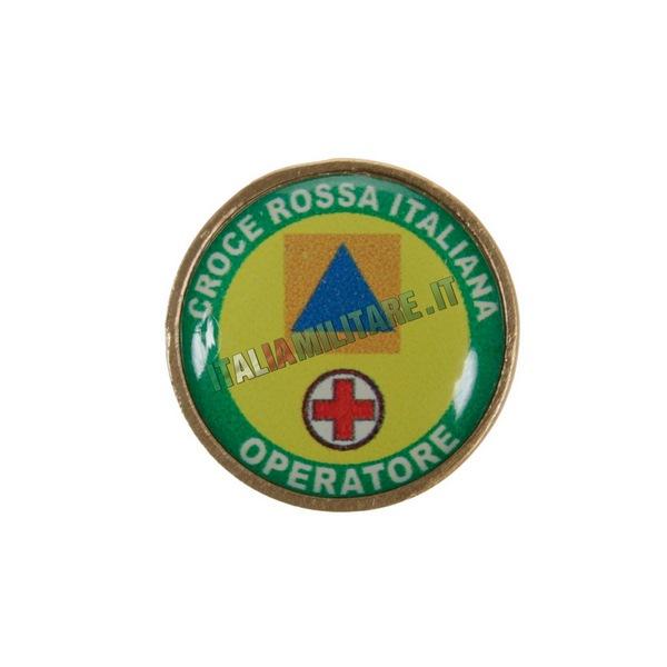 Spilla da Giacca Croce Rossa Italiana - Operatore