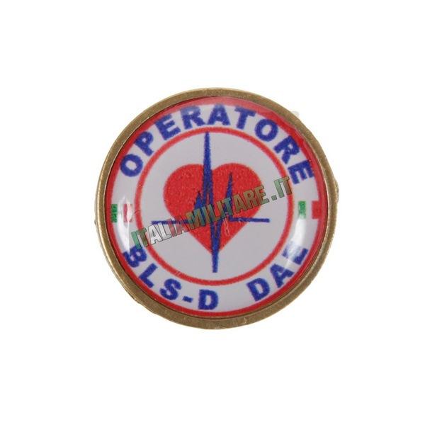 Spilla da Giacca BLS-D Operatore