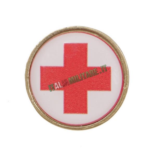 Spilla da Giacca Croce Rossa