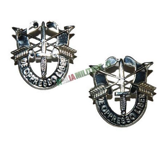 Coppia di Spille Militari Special Forces da Uniforme