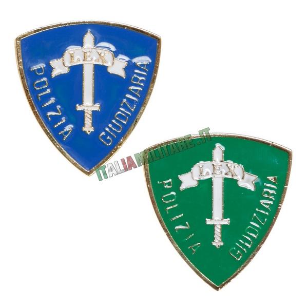 Distintivo - Spilla Polizia Giudiziaria