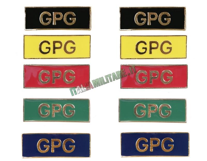 Coppia di Spille GPG da Spalline Guardie Giurate