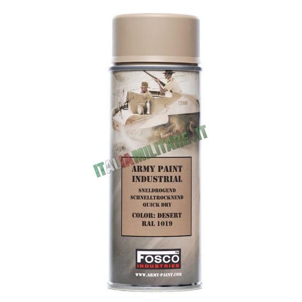 Vernice Militare Spray da 400 ml Sabbia - Desert