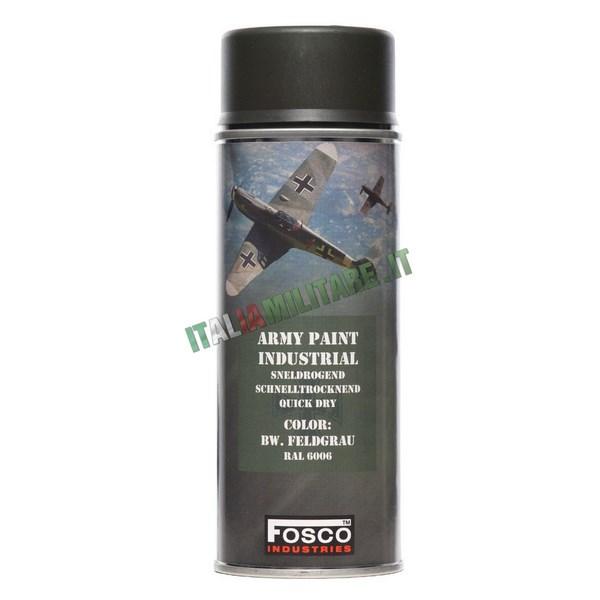 Vernice Militare Spray da 400 ml Grigio Tedesco - Feldgrau