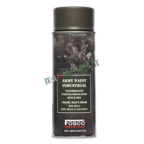 Vernice Militare Spray da 400 ml Verde Oliva - Olive Drab
