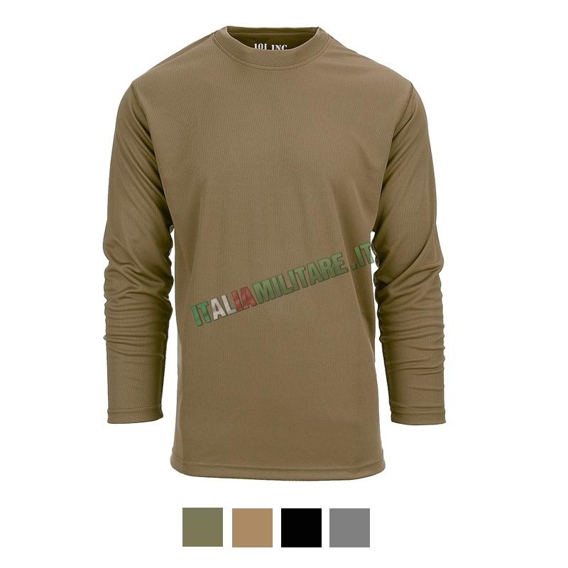 T-shirt 101 Inc a Rapida Asciugatura Lunga - Quick Dry