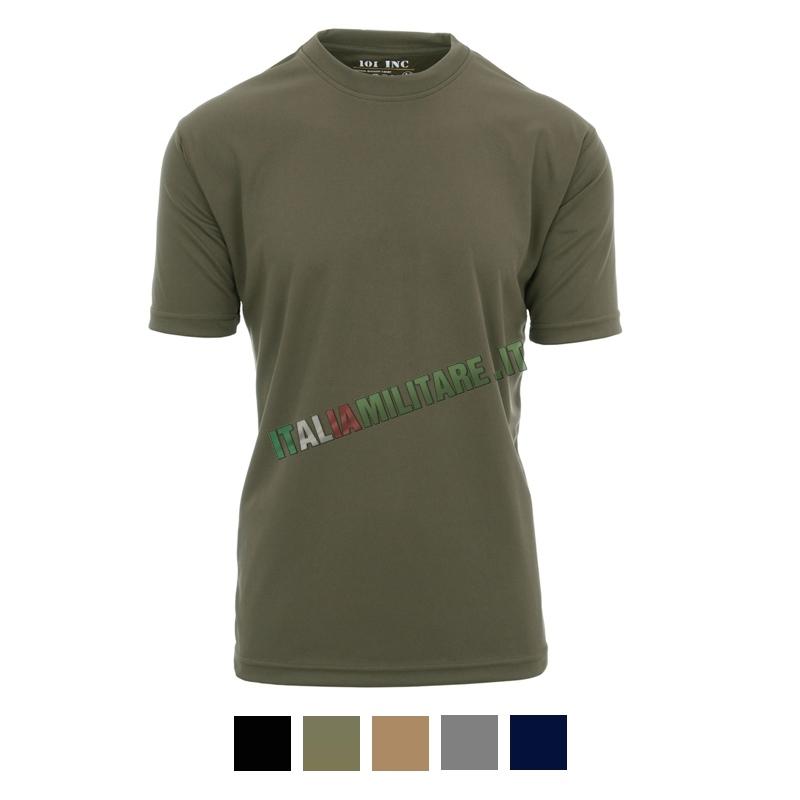T-shirt 101 Inc a Rapida Asciugatura - Quick Dry