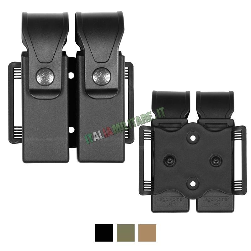 Vega Holster Porta Caricatore 8DMH01 Doppio Universale