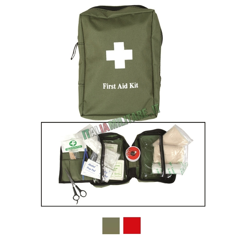 Tasca Medica Kit Primo Soccorso Grande