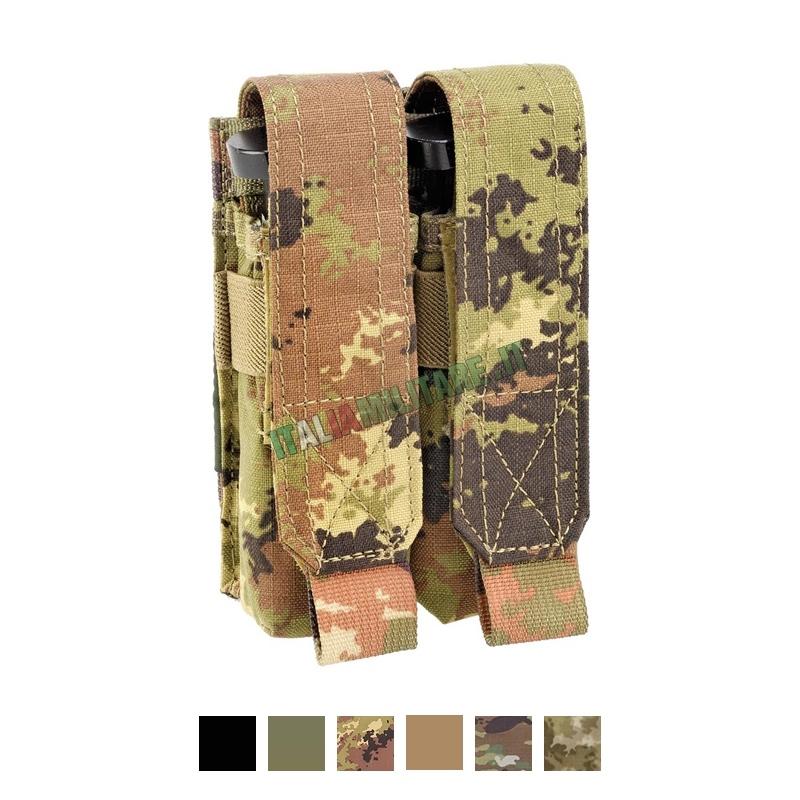 Tasca Porta 2 Caricatori Pistola Defcon 5