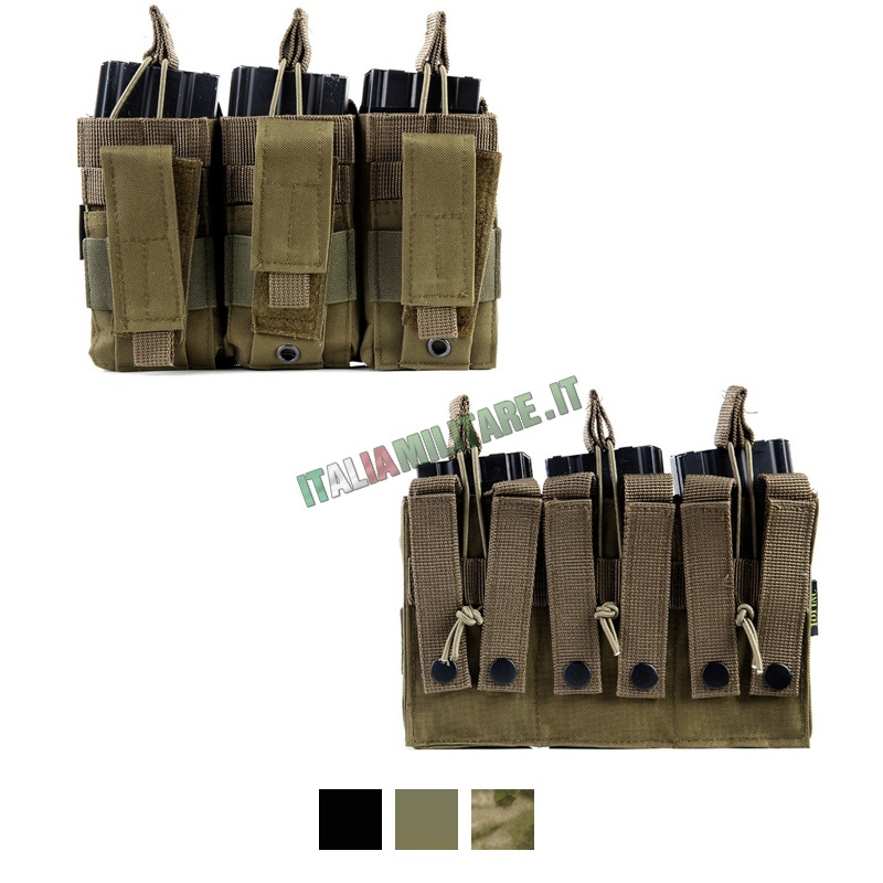 Tasca Cangaroo Porta Caricatori Fucile e Pistola 101 Inc