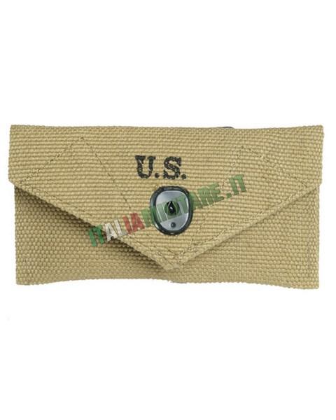 Tasca Militare Americana WWII First Aid M24. Pantaloni Militari Americani WWII  mod HBT ... a5047cd27ea