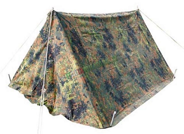 Tenda Originale Esercito Tedesco Militare Flecktarn