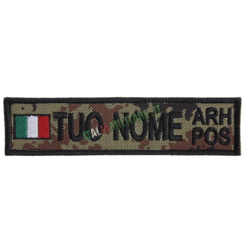 Patch Personalizzata Bandiera Nome Gruppo - Vegetata