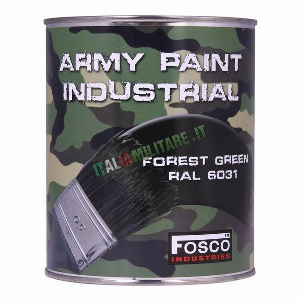 Vernice Militare da 1 Litro Verde Foresta