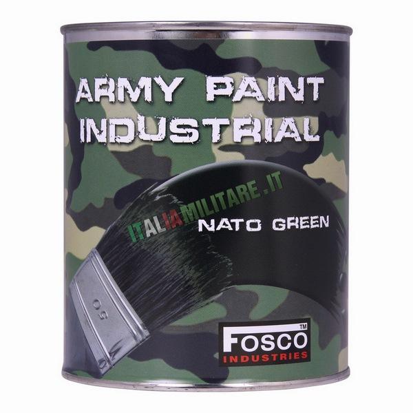 Vernice Militare da 1 Litro Verde Nato