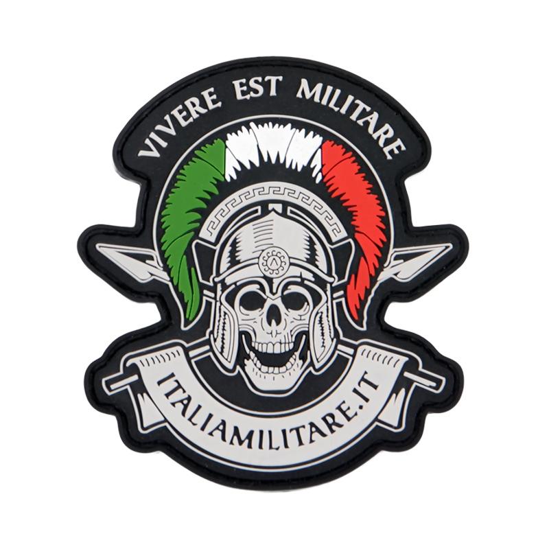 """Patch PVC """"Vivere Est Militare"""" - La Vita è Una Guerra"""