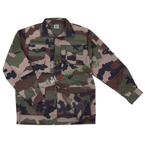 Giacca Camicia Militare Smock Recon Woodland CCE