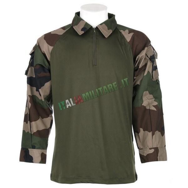 OFFERTA Combat Shirt Mimetica Francese Woodland CCE - S