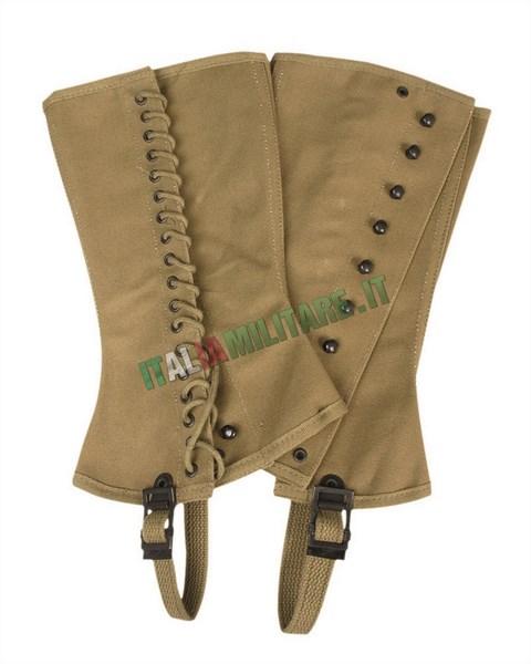 Ghette per Stivali Militari Americane WWII mod M 1938
